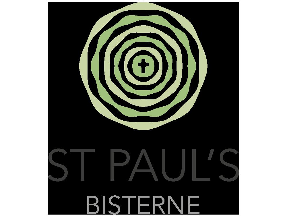 St Paul's, Bisterne logo